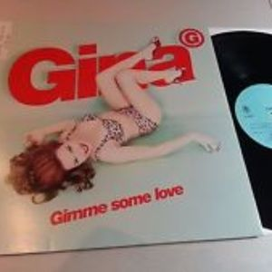 Gina G Gimmie Some Love 1997 DJ Remix PS 12""